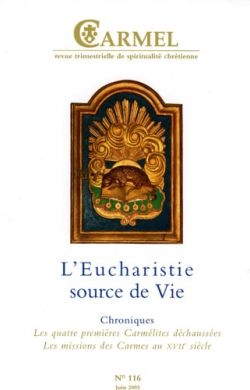 L'Eucharistie source de Vie (n°116)