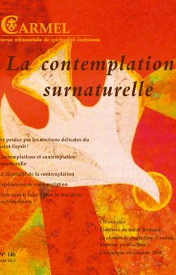 La contemplation surnaturelle (n°140)