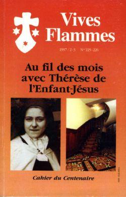 Au fil des mois avec Thérèse de  l'Enfant-Jésus (n°225)