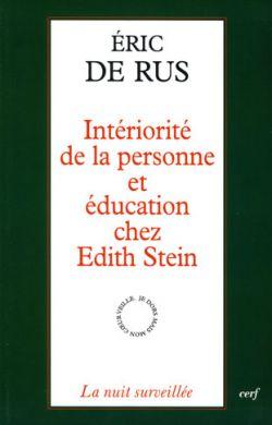 Intériorité de la personne et éducation chez Edith Stein