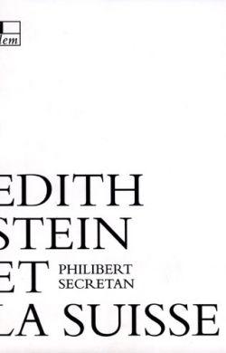 Edith Stein et la Suisse