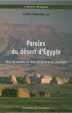 Paroles du désert d'Égypte
